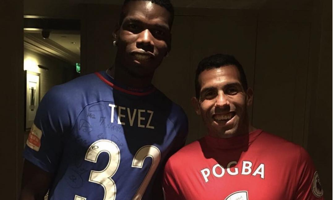 Pogba veste Tevez... in Cina! VIDEO