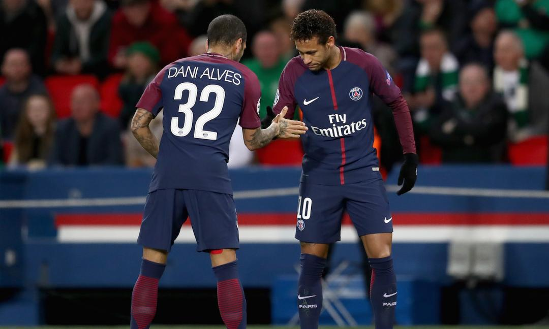 Paris Saint-Germain, Dani Alves: