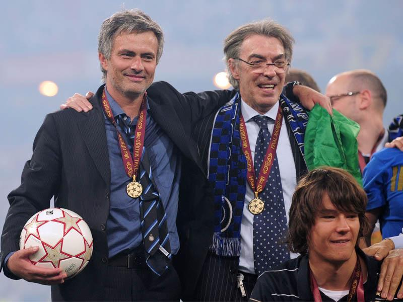 Moratti: 'Mourinho alla Juve? La prenderei male'