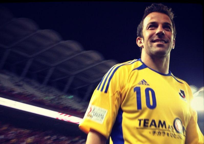 Del Piero, che gesto: fonda la prima squadra mista