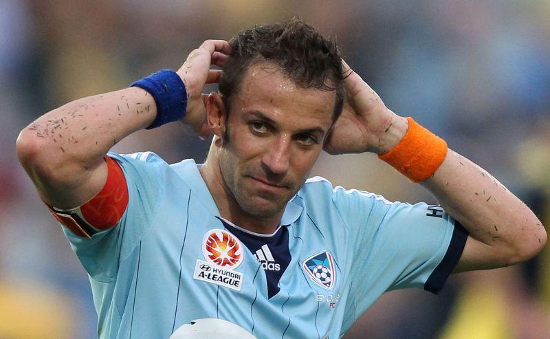 Del Piero: 'Dopo la Juve mi sono sentito un po' perso'