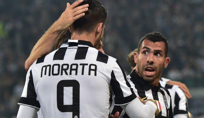 9 novembre: Tevez-Morata da impazzire, la Juve ne fa 7 al Parma!