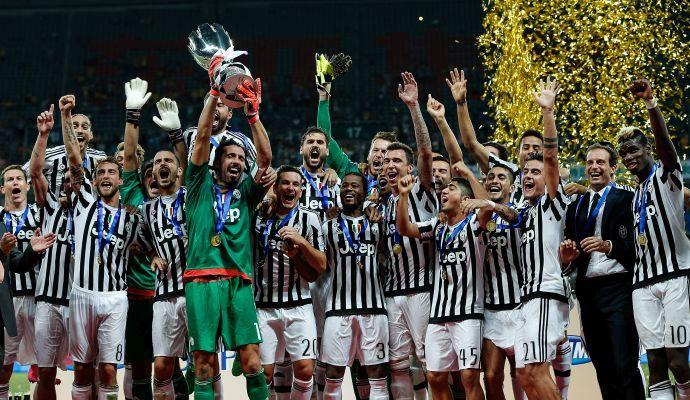 Supercoppa, la top11 della Juventus nella competizione