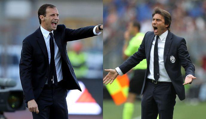 Juve-Chelsea: che intreccio tra Conte, Allegri e Luis Enrique!
