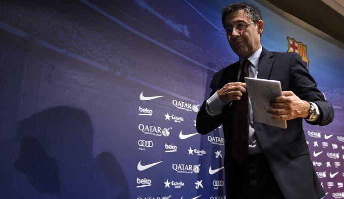 Bartomeu come Agnelli: 'Il Barça andrà avanti con Valverde'