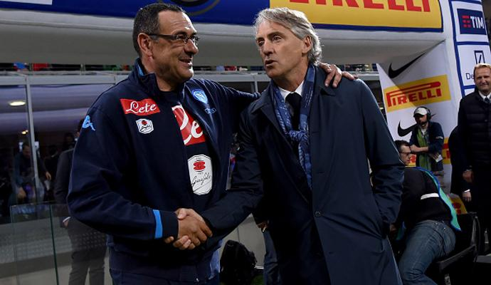 Sarri-Mancini, arriva la pace: 'Acqua passata'