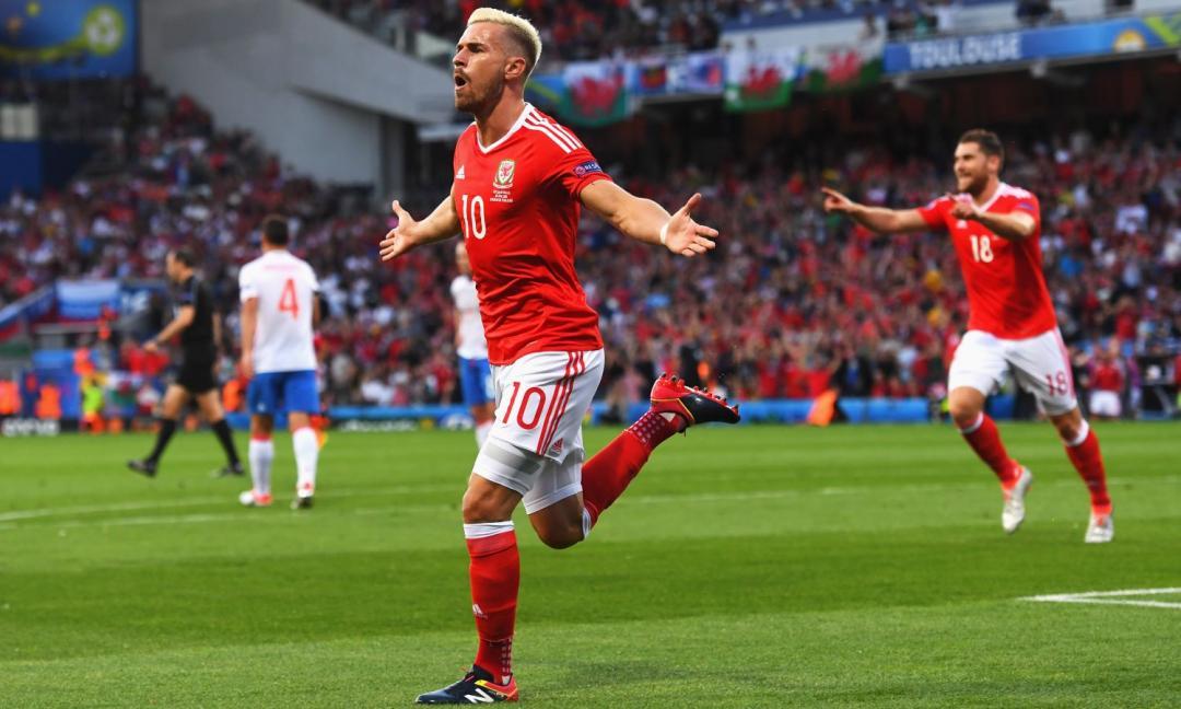 Ramsey-Juve, anche la Nazionale gallese esulta: 'Bellissimo!'