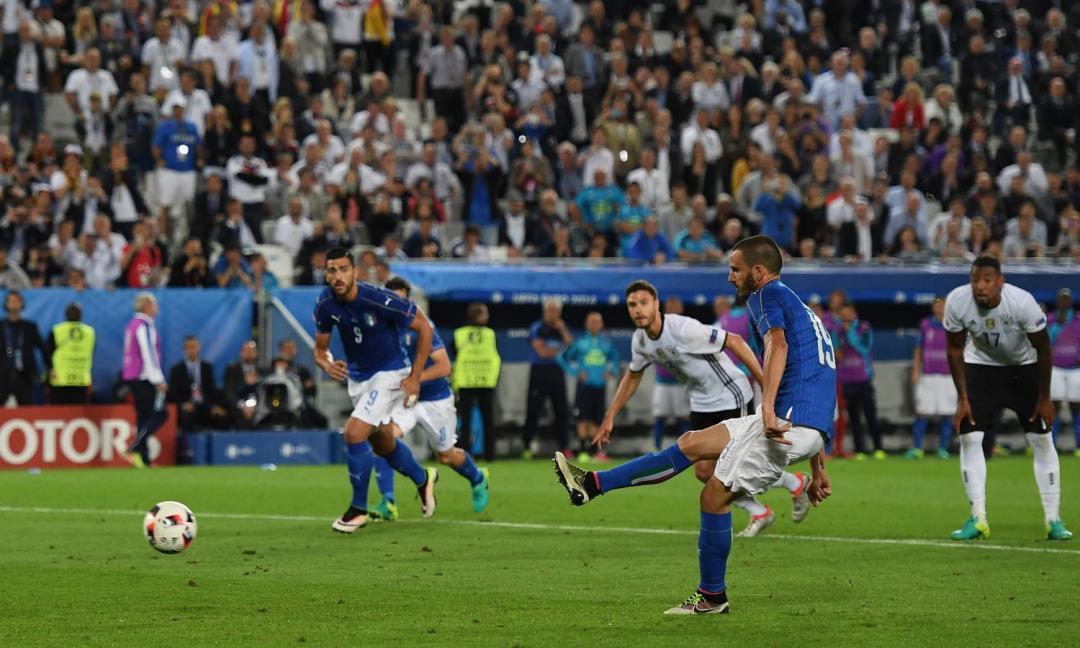 L'ultimo gol dell'Italia in un Europeo? L'ha segnato Bonucci
