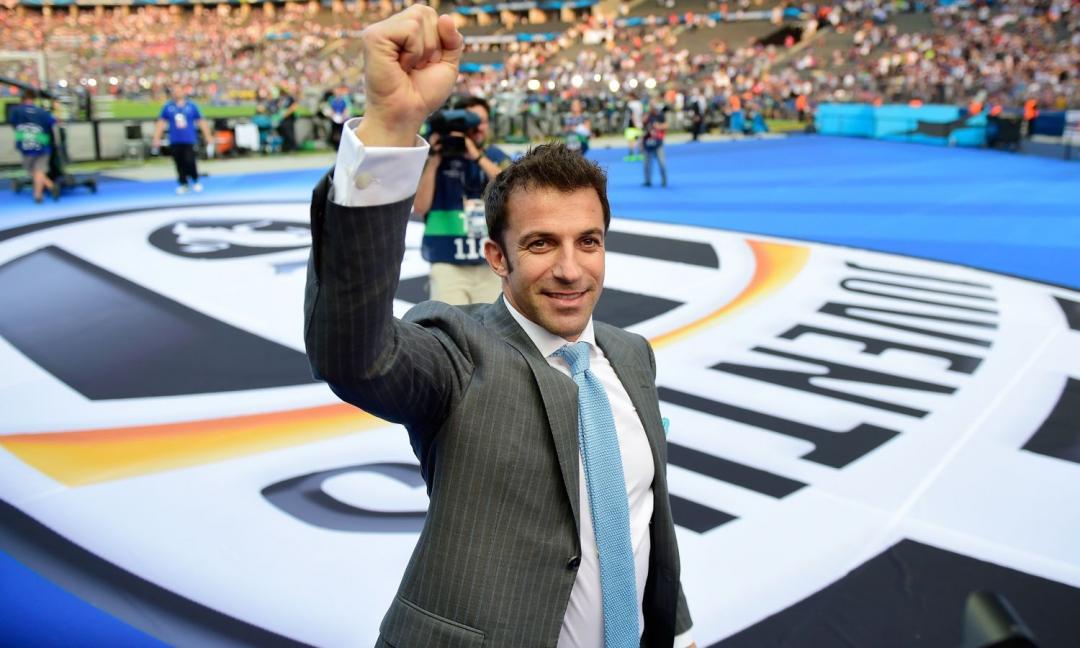 Del Piero: 'Ajax-Juve è una grande sfida. Ad Allegri manca la Champions'