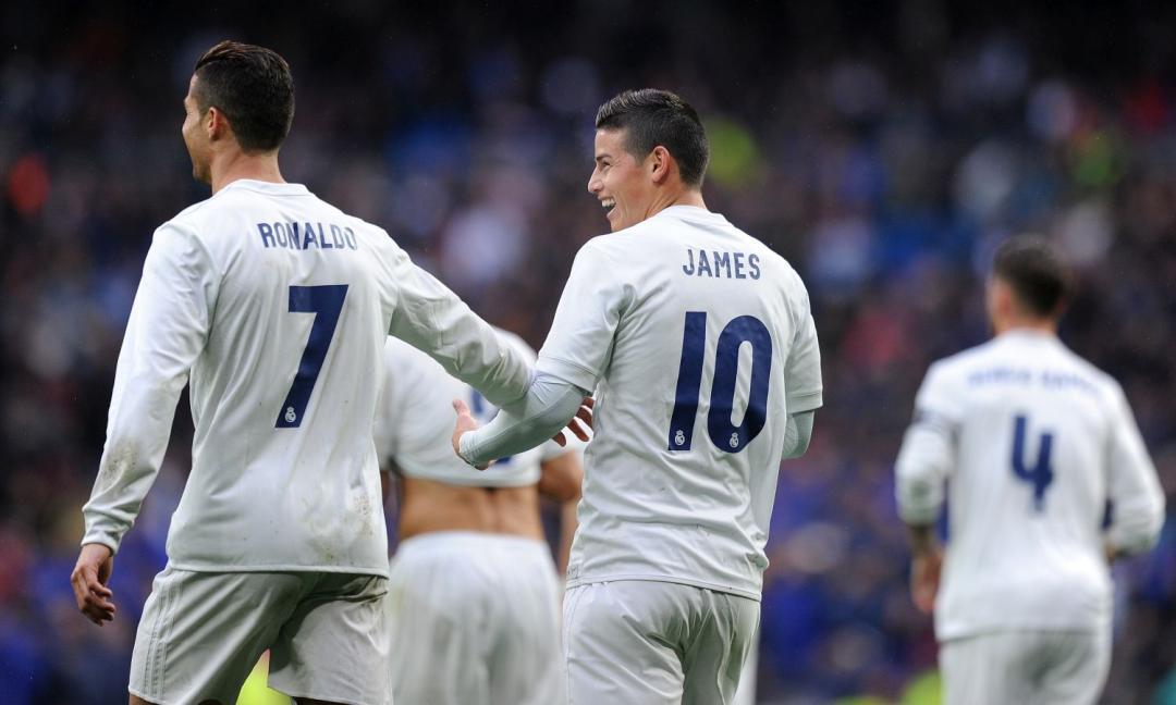Matthaus: 'Ronaldo vuole James alla Juve, sono in contatto'