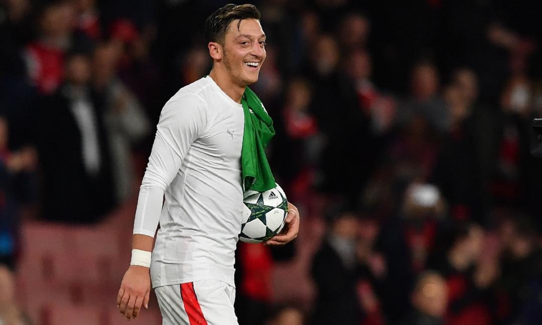 Ozil, svolta nel futuro: tra Serie A e il ritorno a Madrid