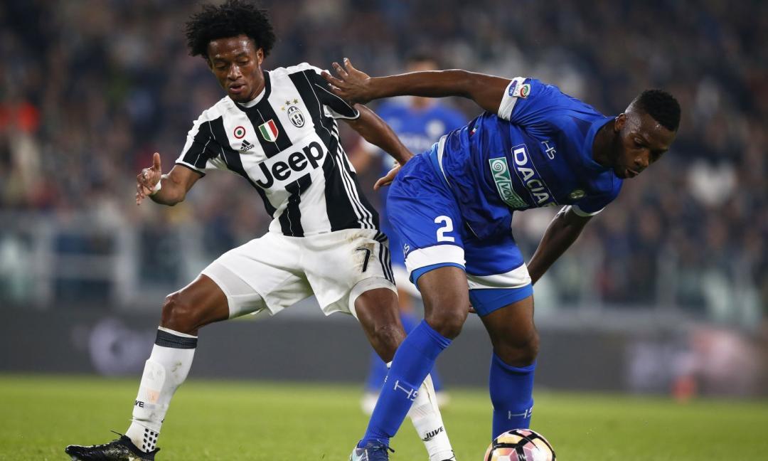 Cuadrado in panchina con l'Atalanta: segnali di 3-5-2 in vista di Firenze