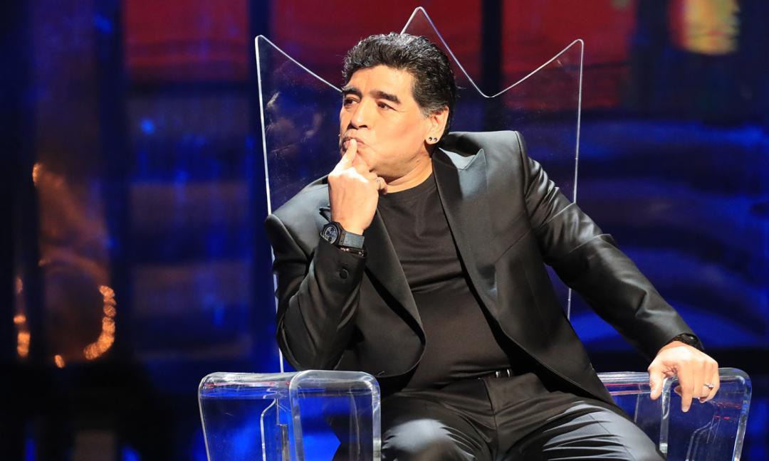 Maradona: 'A Dybala ho scritto un messaggio. Deve migliorare...'