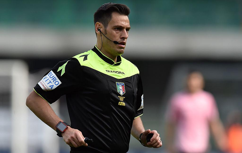 L'arbitro del recupero: con Mariani la Juve ha sempre vinto