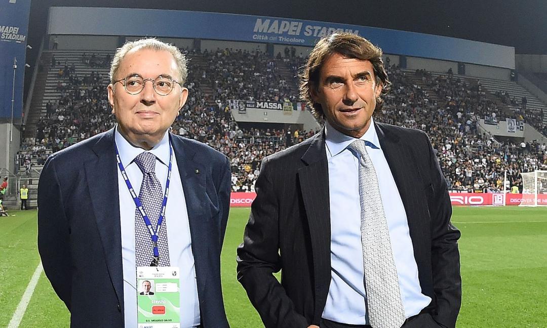 Squinzi, sfottò all'Inter: 'Un quadretto ogni volta che la battiamo! Allegri...'