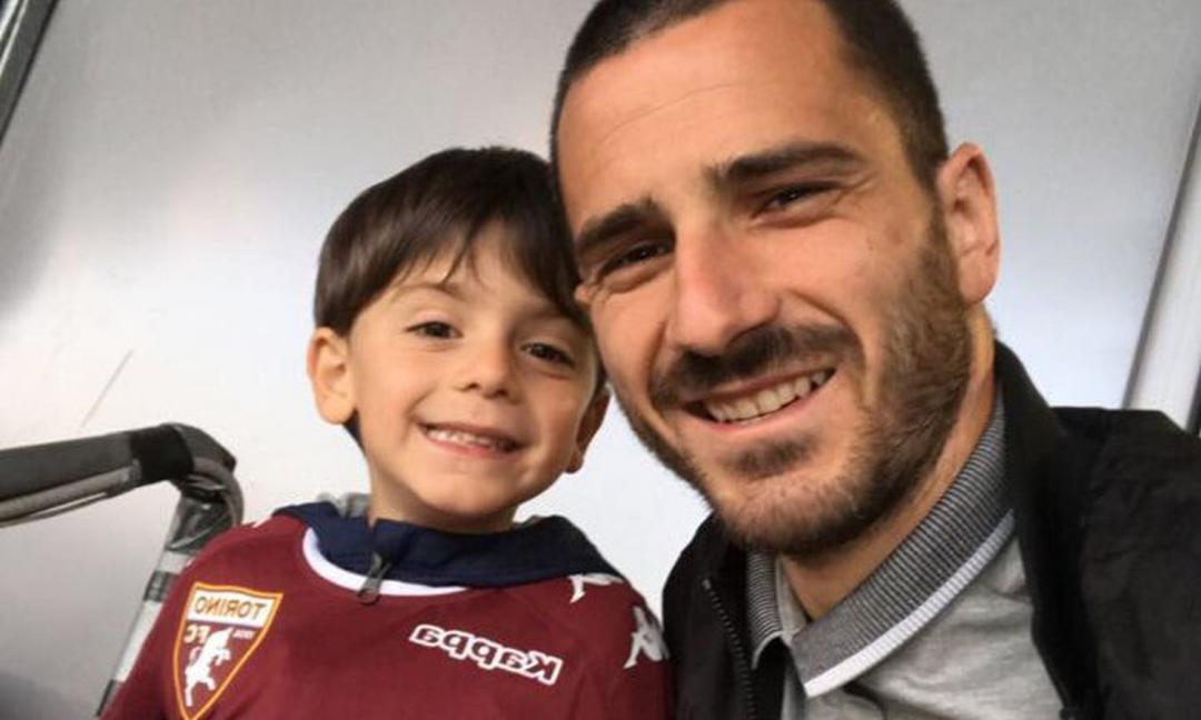 Piccoli Amici: il figlio di Bonucci sfida la Juve con la maglia del Torino VIDEO