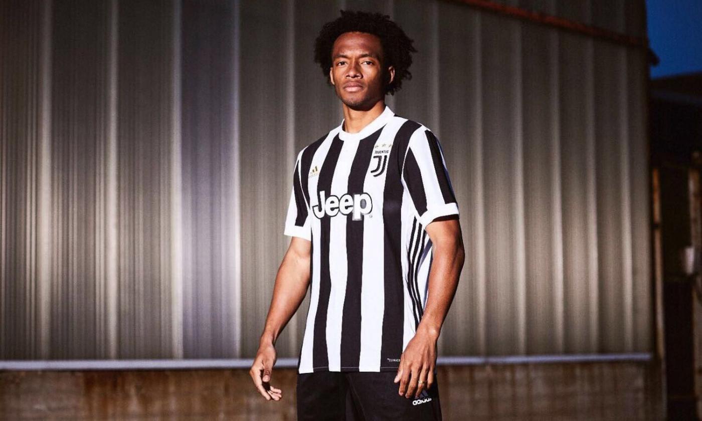 Dopo la gaffe di Cuadrado, le nuove maglie della Juve sono già in ...