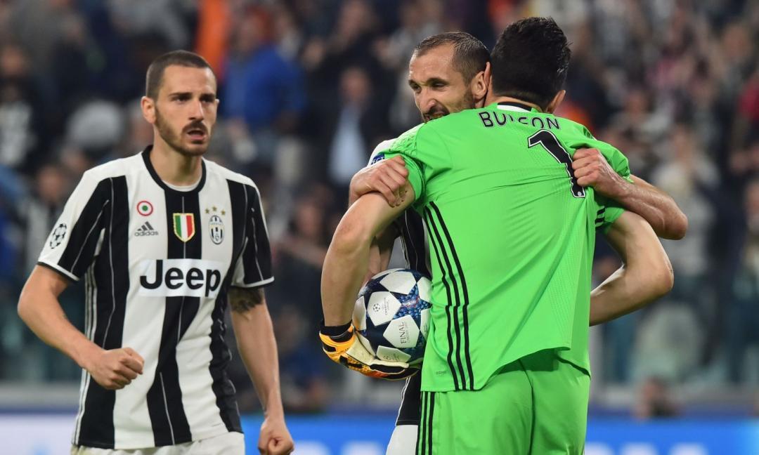 Juve, anche Bonucci saluta Buffon FOTO