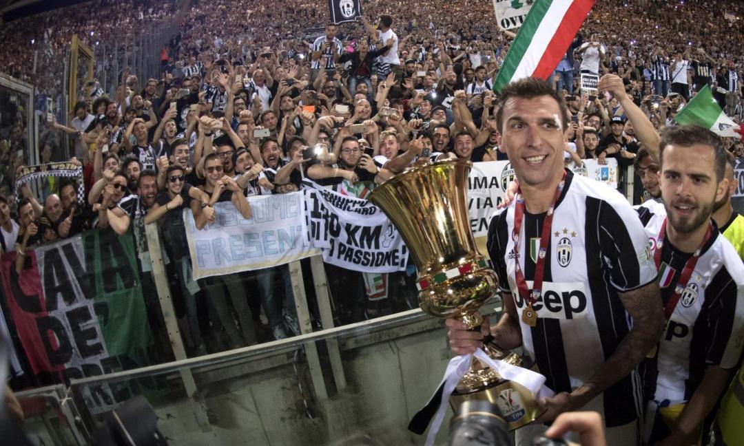 Terza Coppa Italia consecutiva: tutta la gioia della Juve GALLERY