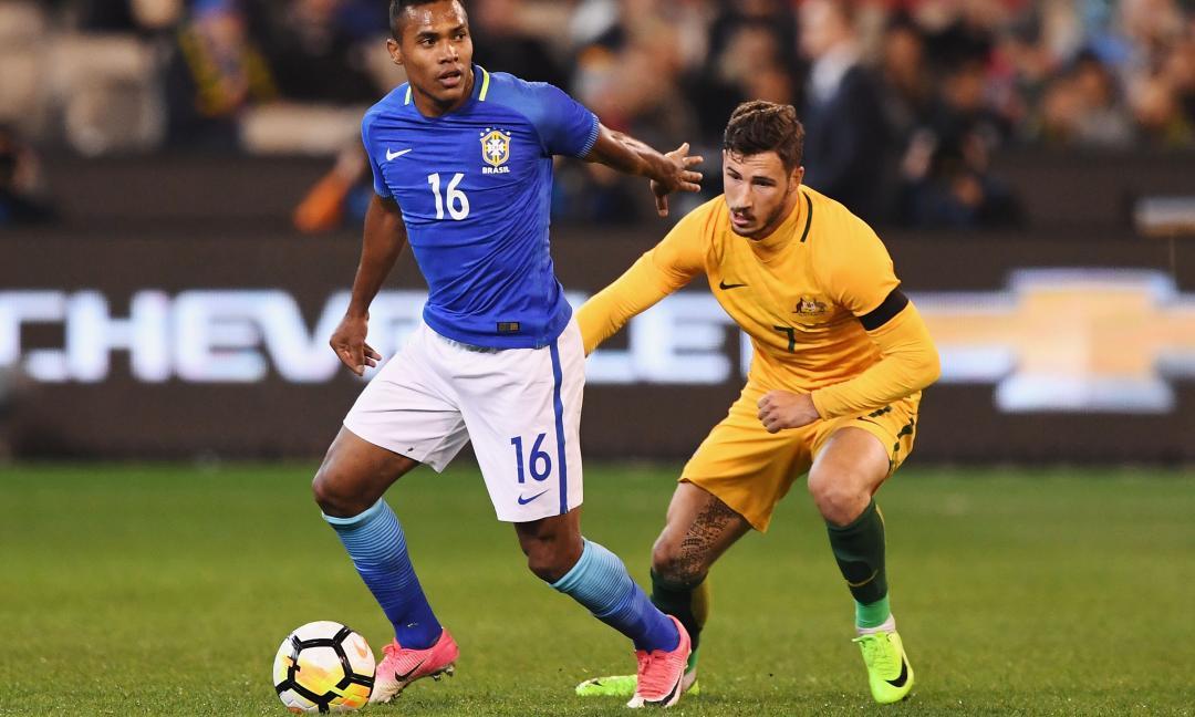 Alex Sandro segna il primo gol con la maglia del Brasile VIDEO