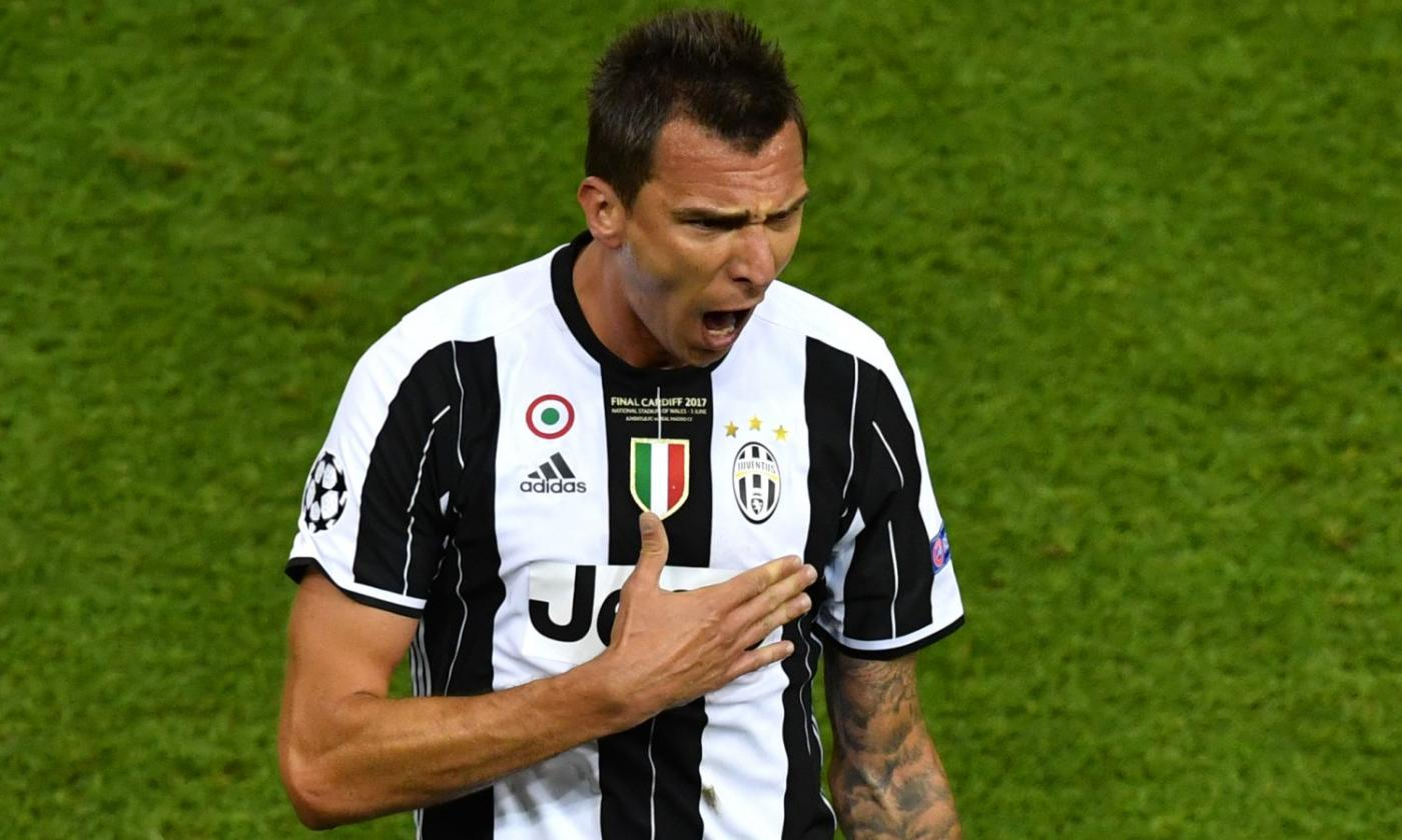 Dichiarazione di Mandzukic: 'La maglia della Juve è un motivo per ...