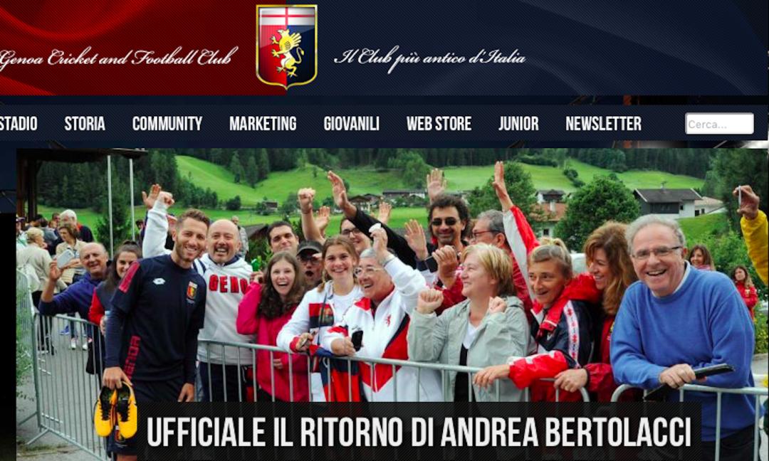 Genoa, riecco Bertolacci: 'Voglio la nazionale, sul Milan…'
