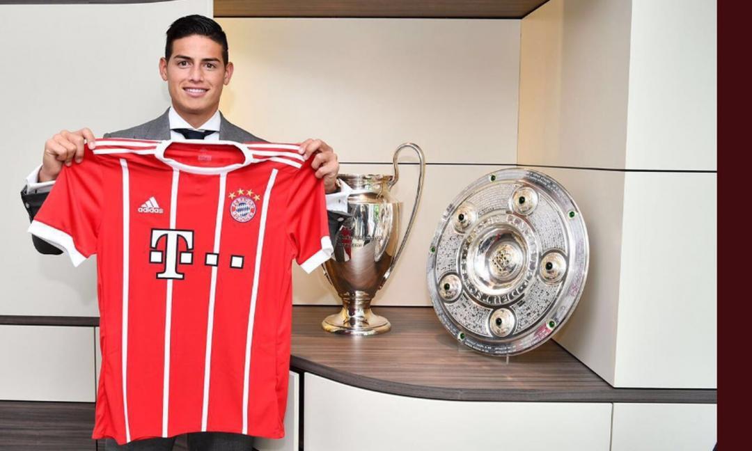 James, che esordio con il Bayern! C'è il suo zampino in due gol