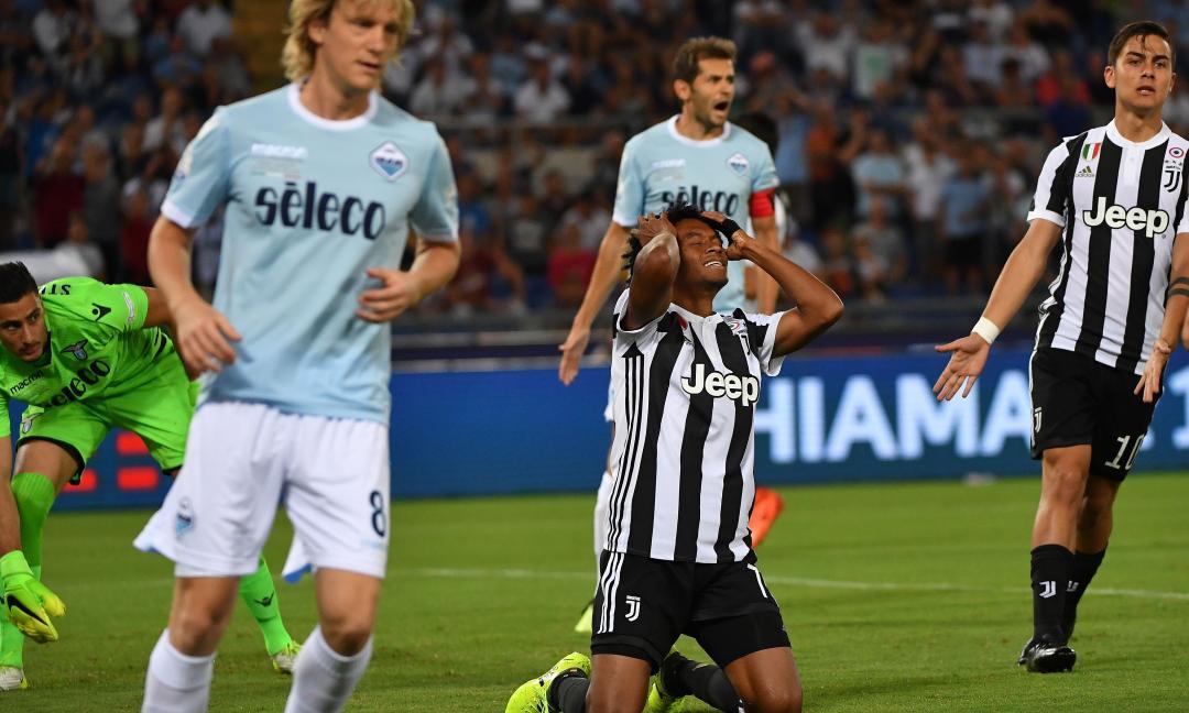 Juve-Lazio 2-3, la partita in scatti: le immagini più belle della Supercoppa
