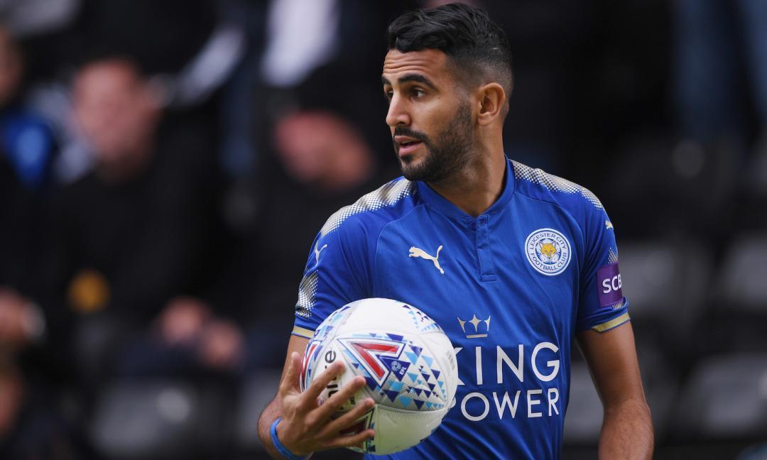 Roma, che sgambetto dal Leicester: Mahrez offerto a un altro club