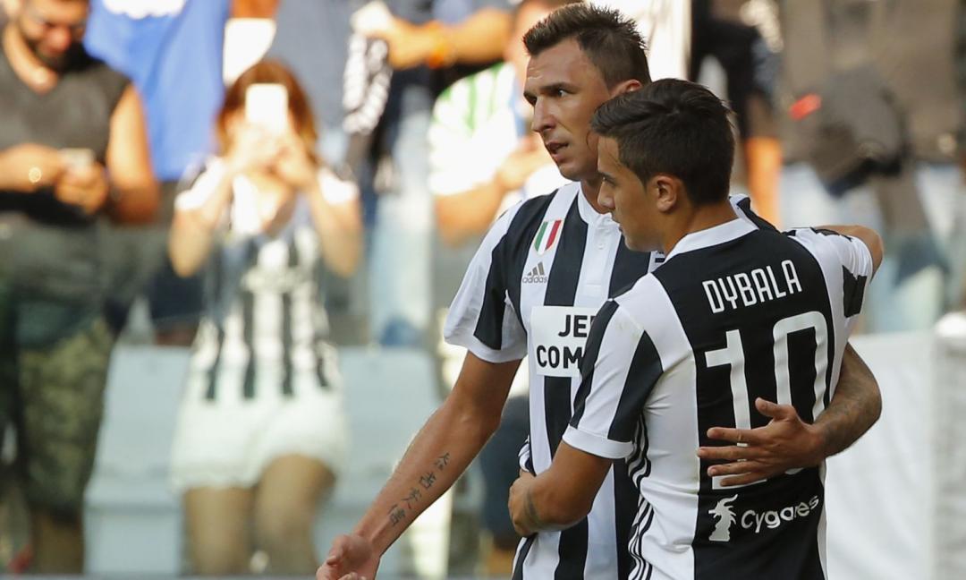 Sassuolo-Juve, FORMAZIONI UFFICIALI: c'è Mandzukic