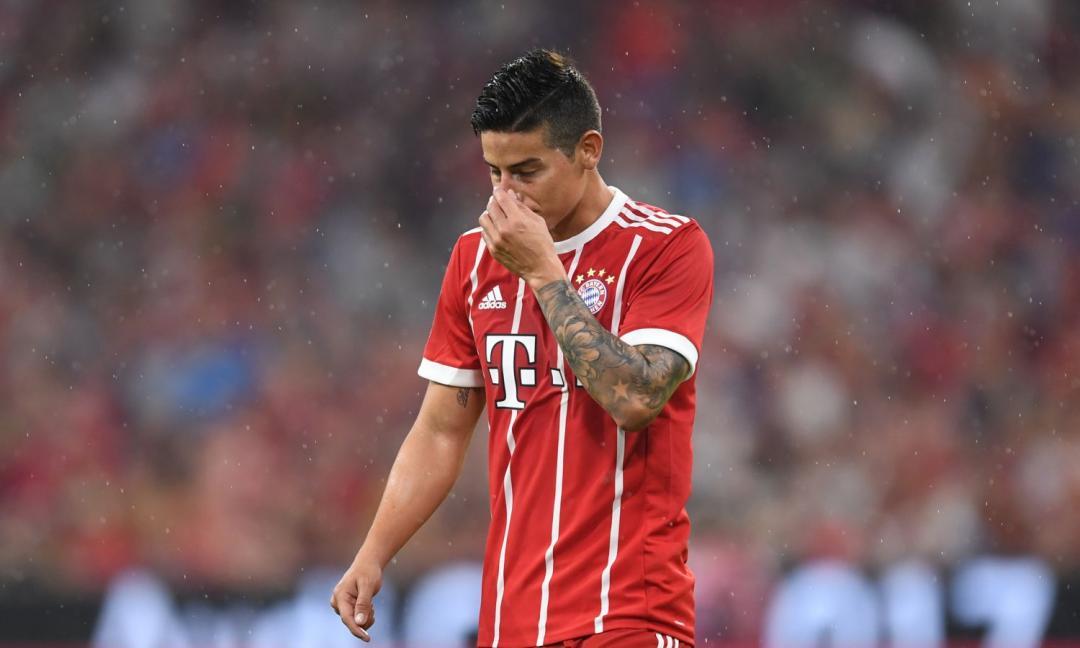 James, con il Bayern è già addio? C'è la Juve