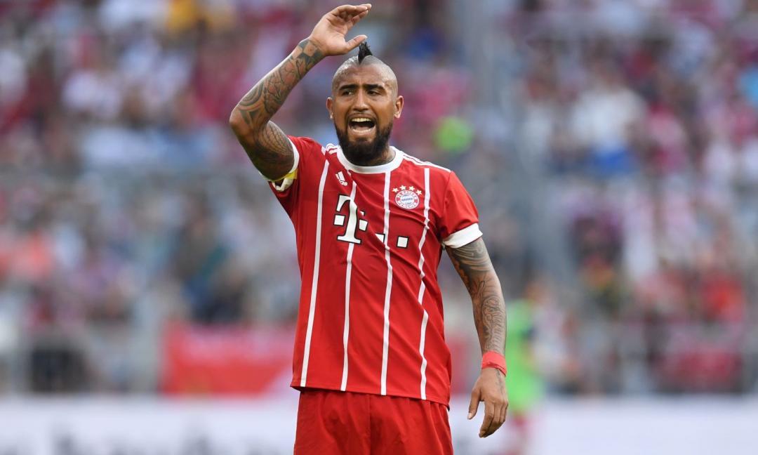 Allarme Bayern, infortunio per Vidal! FOTO