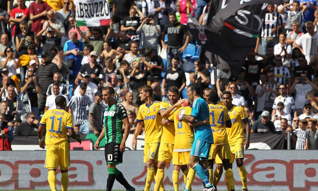 Juve vincente contro il Sassuolo: le reazioni social