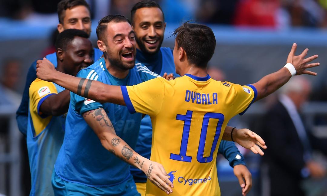 Sassuolo-Juve: il film della partita