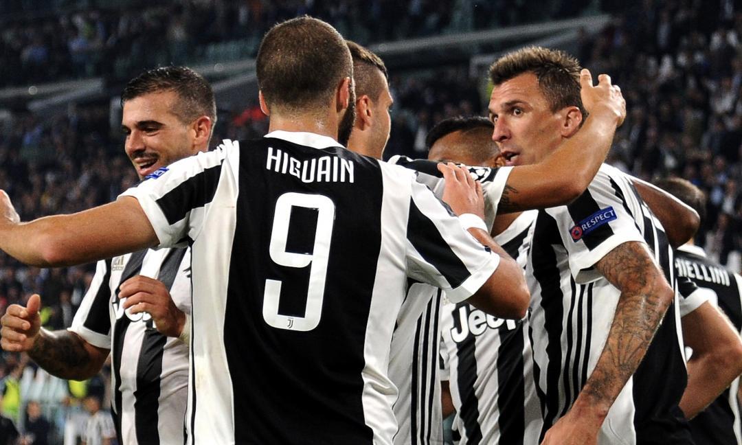 Sportitalia: Mandzukic resta, Higuain in dubbio. Su Cavani e Lewandowski...