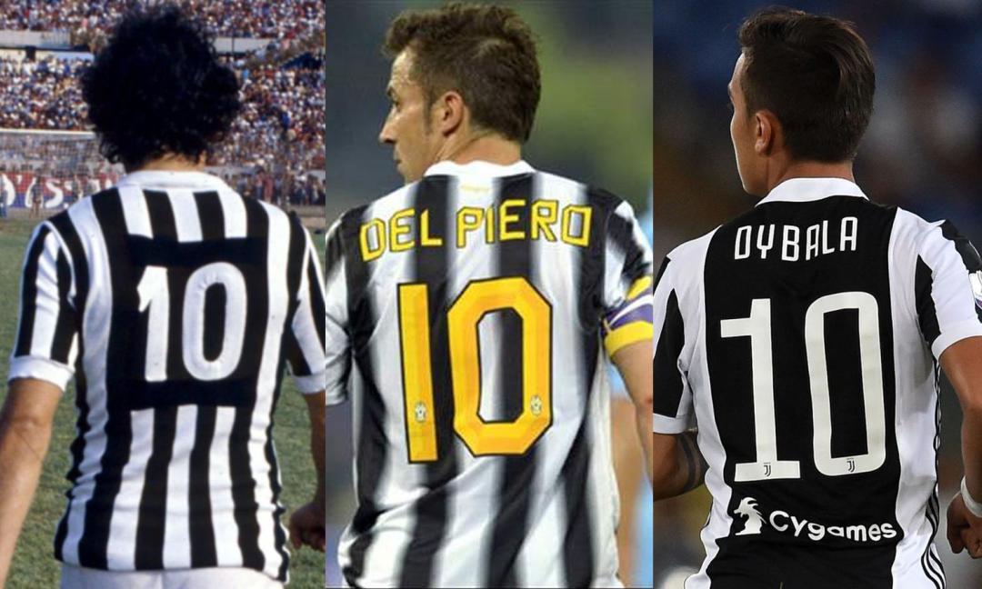 Chi è il miglior 10 della storia della Juve? VOTA