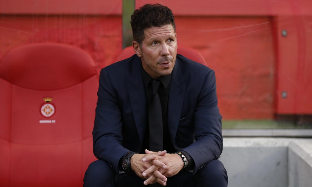 Atletico, Simeone perde un difensore per la sfida con la Juve