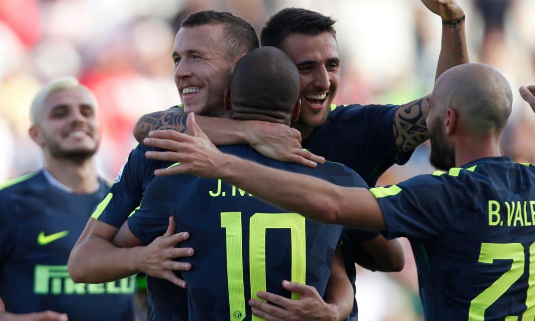 Crotone-Inter 0-2, GOL e HIGHLIGHTS