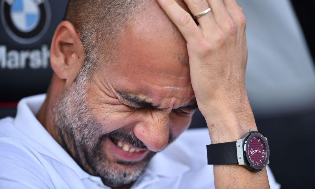 Guardiola: il 'problema' del Manchester City interessa anche la Juve