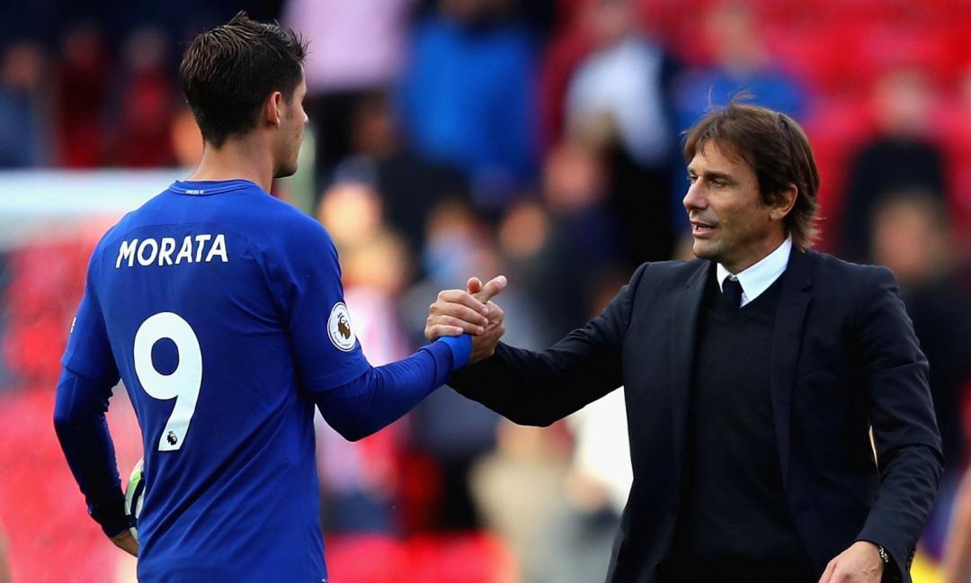 Conte duro su Morata: 'Prima vera stagione, alla Juve e al Real faceva panchina'