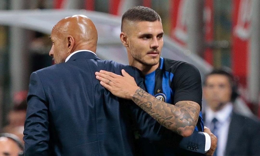 Spalletti: 'Icardi? Certe cose mettono in imbarazzo l'Inter'