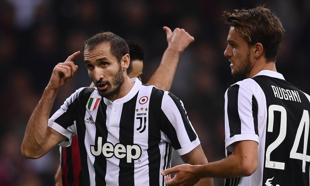 Chiellini non si ritira: lo suggerisce la Juventus