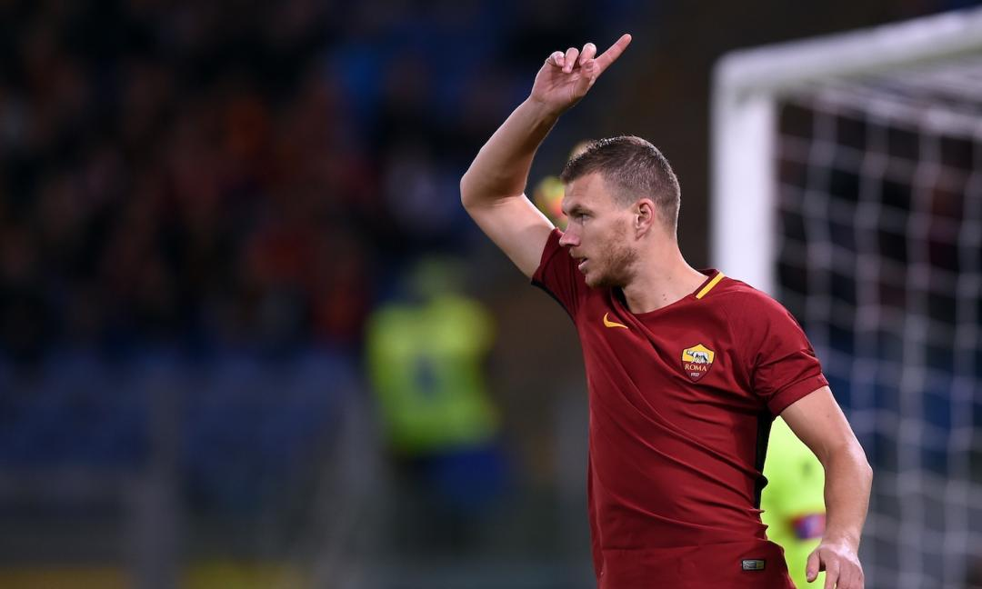 Dzeko: 'La Juve resta la favorita per lo scudetto'