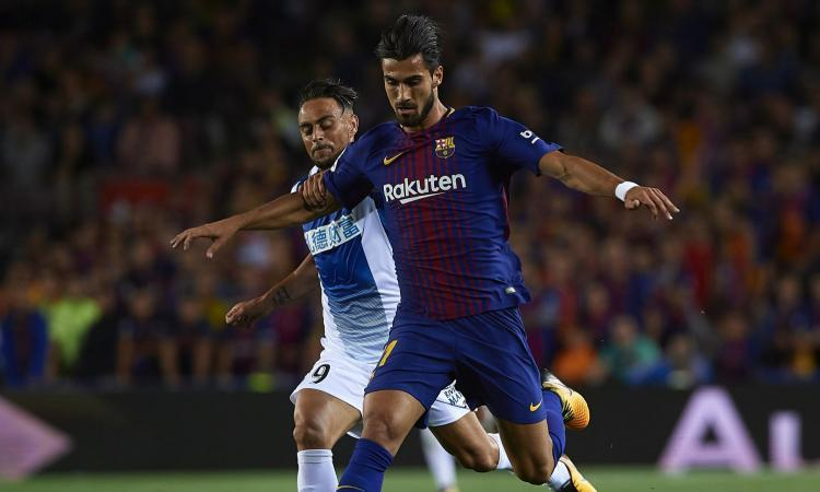 André Gomes, c'è l'offerta: la risposta del Barça
