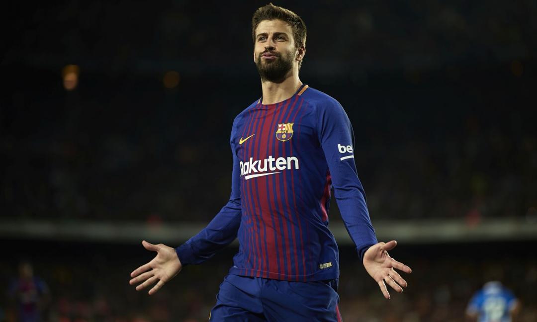 Barcellona, Piqué rivela: c'è un gruppo Whatsapp per gli sfottò al Real