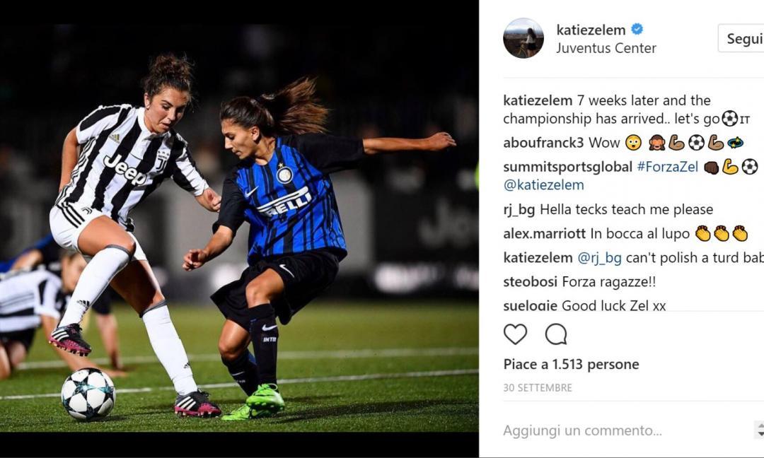 Juve Women, Zelem: 'Vogliamo finire il campionato da imbattute'