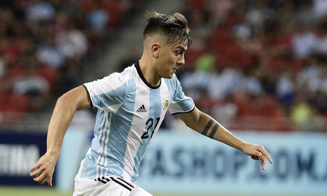 Argentina, Dybala seconda punta: ecco le scelte di Sampaoli