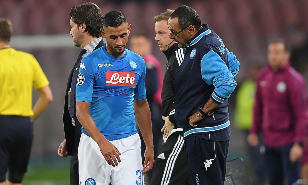 Napoli: assalto a due obiettivi della Juve per sostituire Ghoulam