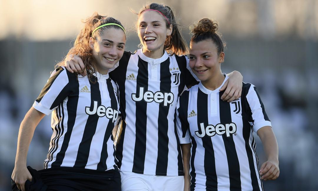 Prima di Juve-Chievo, un po' di freestyle per le Women VIDEO