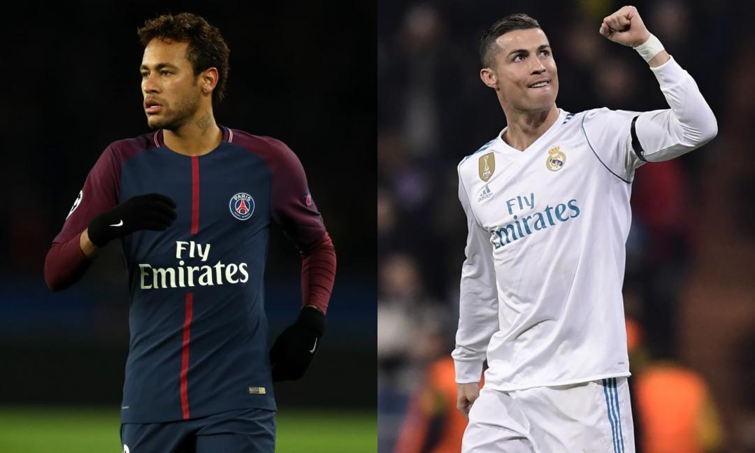 Clamoroso dalla Spagna: scambio Neymar-Cristiano Ronaldo!